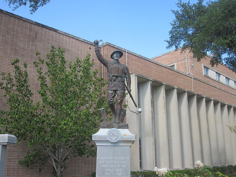 Angelina County Soldiers Monument by Billy Hathorn